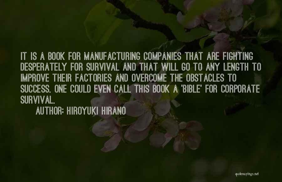 Success In The Bible Quotes By Hiroyuki Hirano