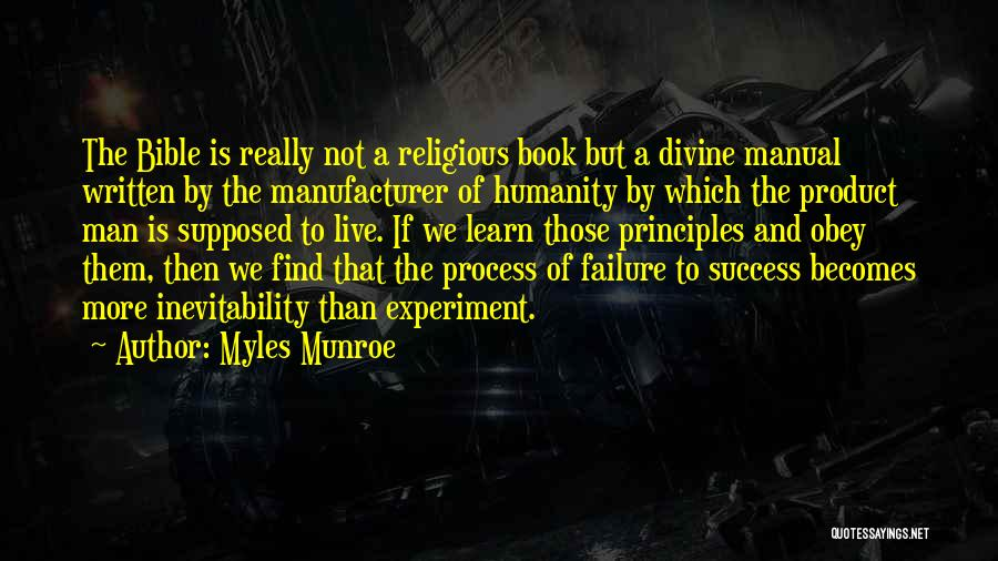 Success In The Bible Quotes By Myles Munroe