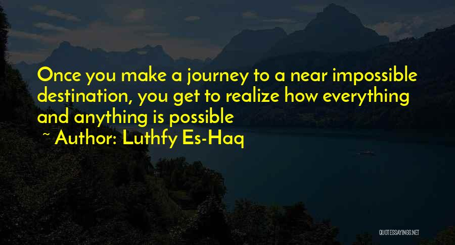 Success Is Near Quotes By Luthfy Es-Haq