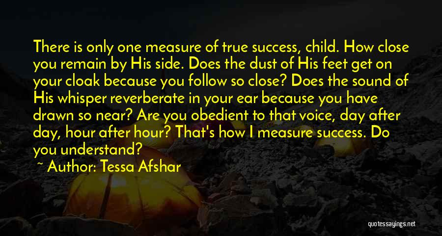 Success Is Near Quotes By Tessa Afshar