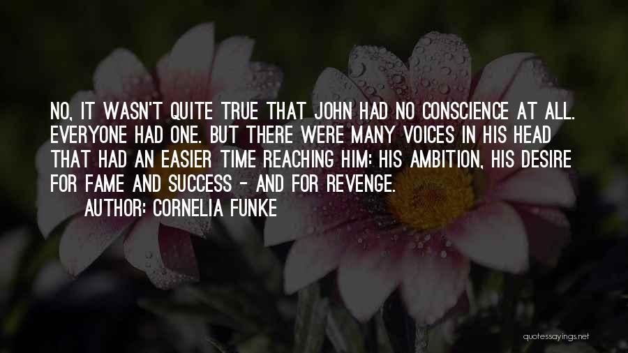 Success Is The Best Revenge Quotes By Cornelia Funke