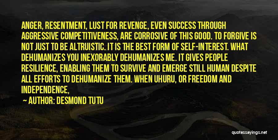 Success Is The Best Revenge Quotes By Desmond Tutu