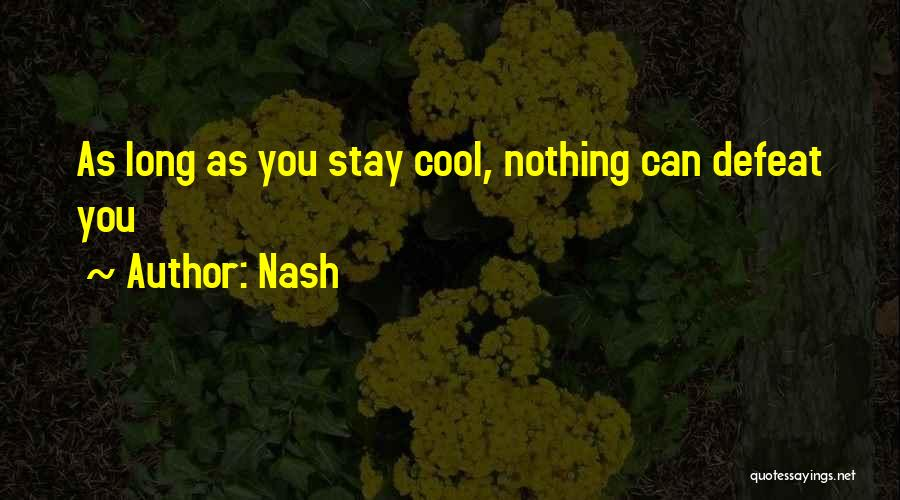 Success Is The Best Revenge Quotes By Nash