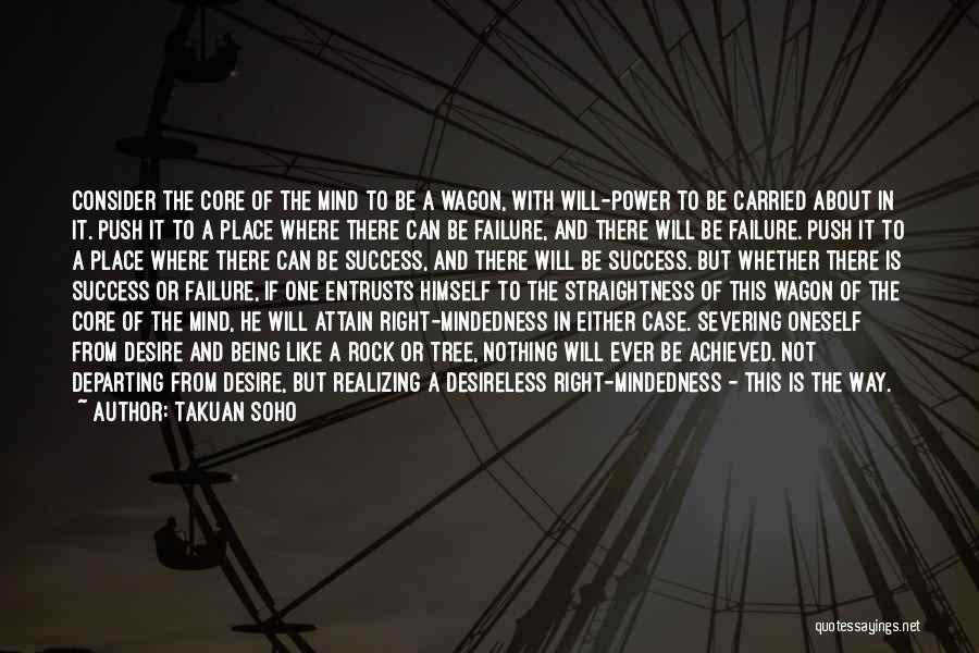 Success Vs Failure Quotes By Takuan Soho