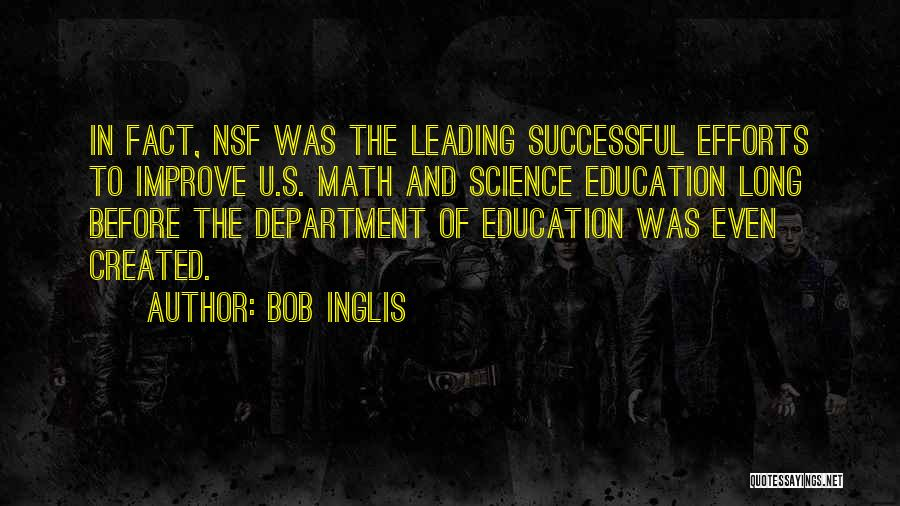 Successful Education Quotes By Bob Inglis