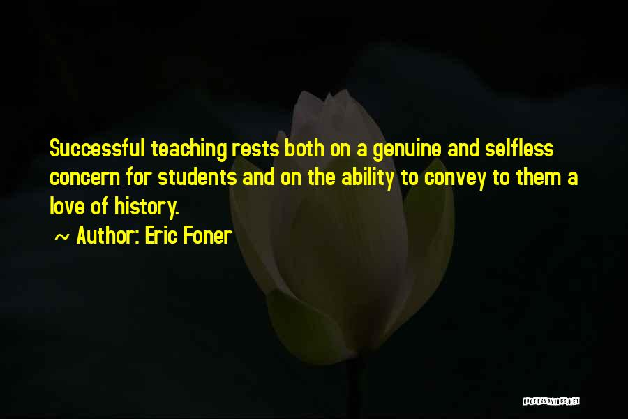 Successful Education Quotes By Eric Foner