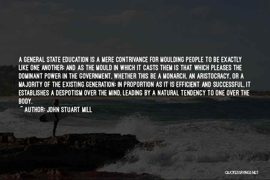 Successful Education Quotes By John Stuart Mill