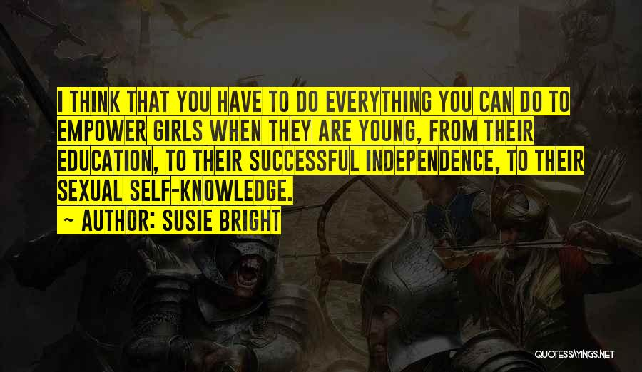 Successful Education Quotes By Susie Bright