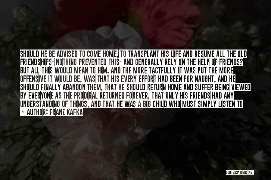Successful Friendships Quotes By Franz Kafka
