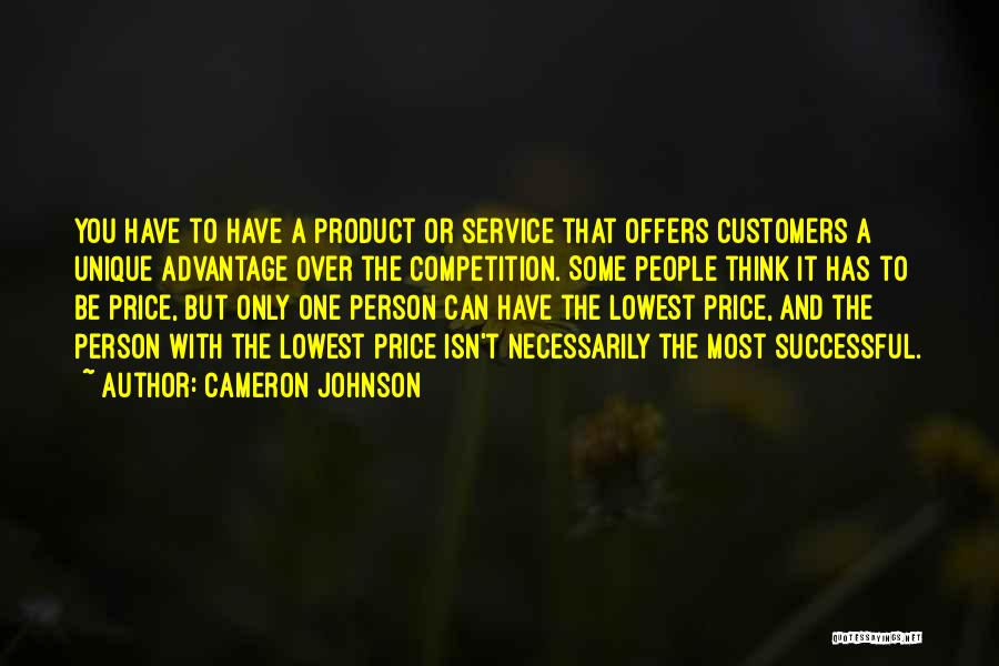 Successful Person Quotes By Cameron Johnson