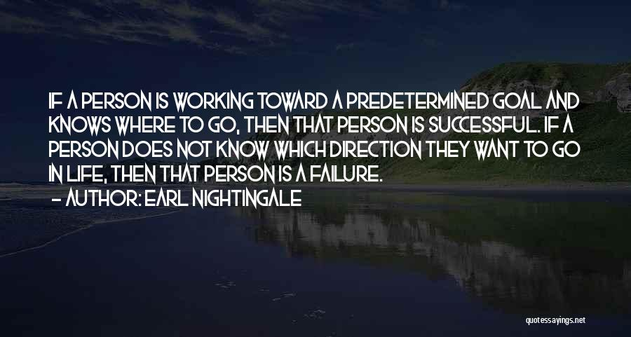 Successful Person Quotes By Earl Nightingale