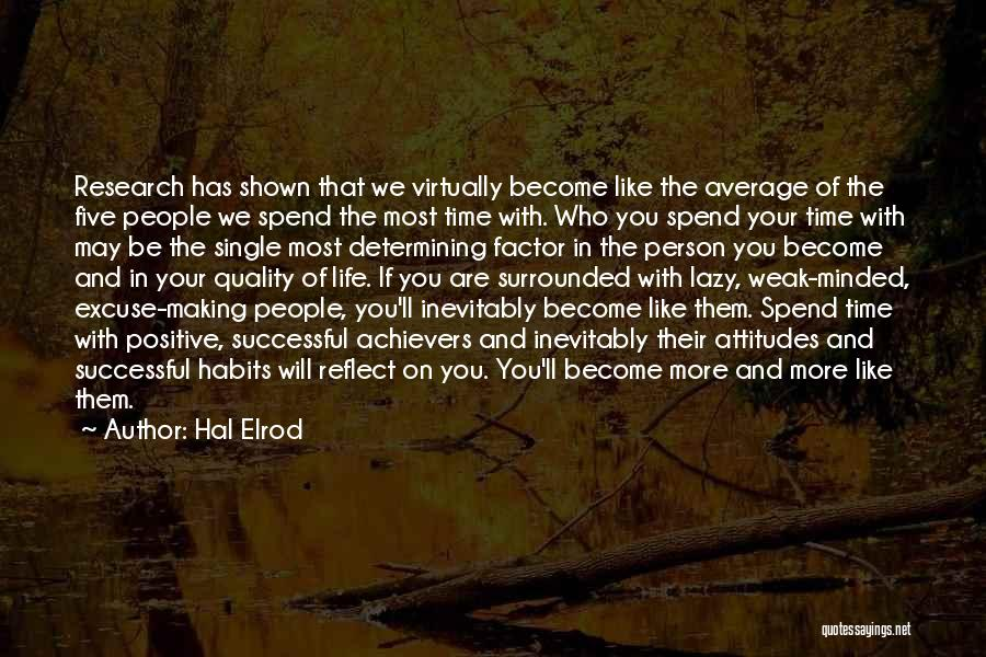 Successful Person Quotes By Hal Elrod