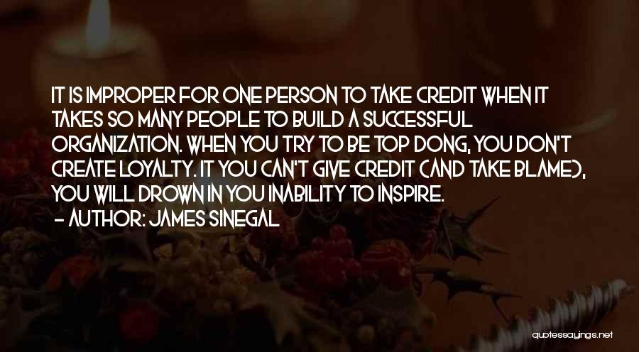 Successful Person Quotes By James Sinegal