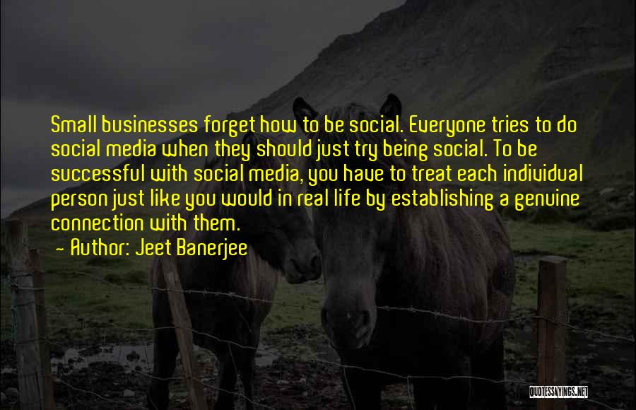 Successful Person Quotes By Jeet Banerjee