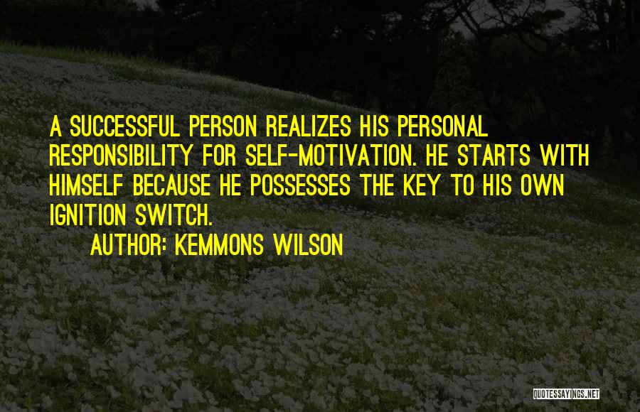 Successful Person Quotes By Kemmons Wilson