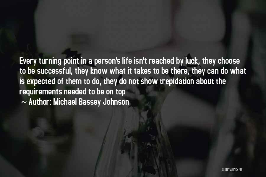 Successful Person Quotes By Michael Bassey Johnson