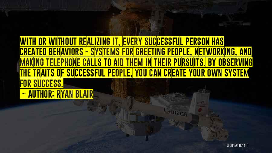 Successful Person Quotes By Ryan Blair