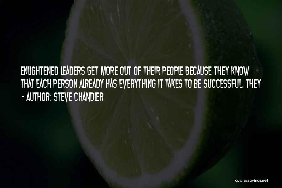 Successful Person Quotes By Steve Chandler