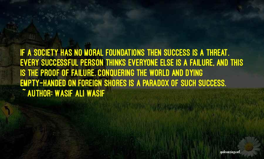 Successful Person Quotes By Wasif Ali Wasif