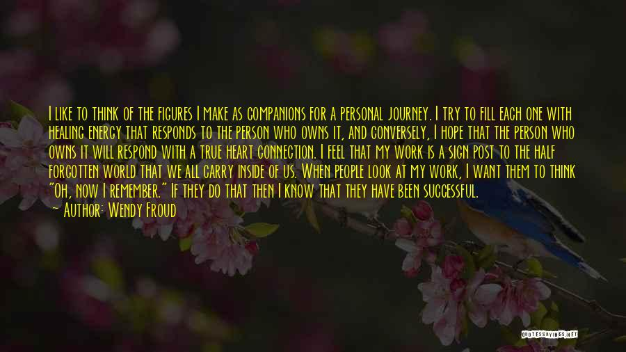 Successful Person Quotes By Wendy Froud