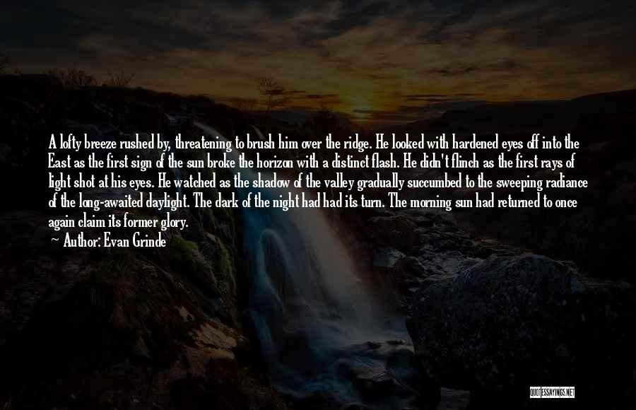 Succumbed Quotes By Evan Grinde