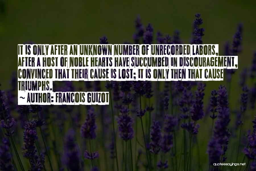 Succumbed Quotes By Francois Guizot