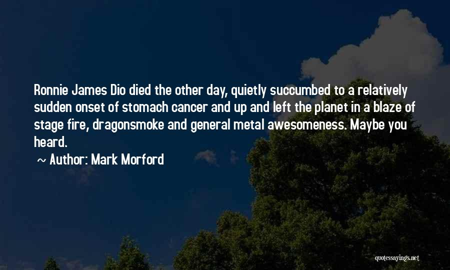Succumbed Quotes By Mark Morford
