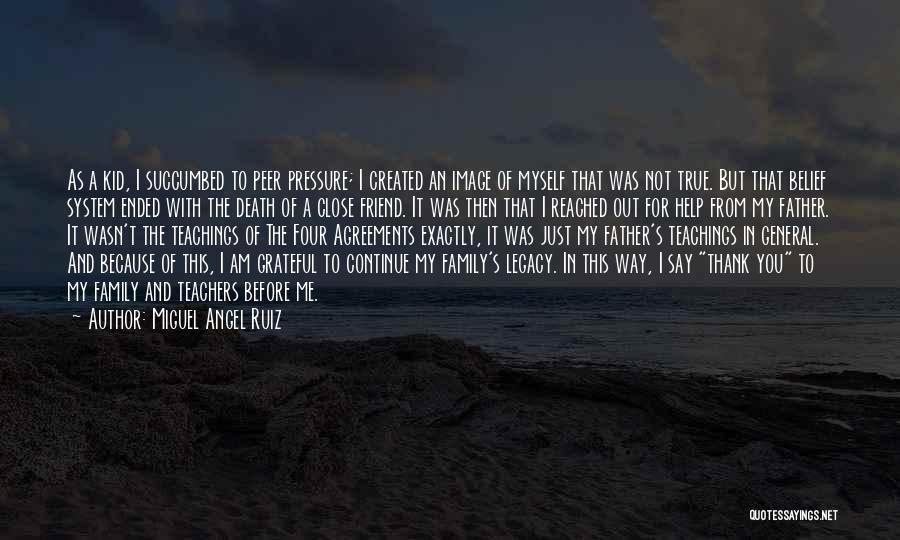 Succumbed Quotes By Miguel Angel Ruiz