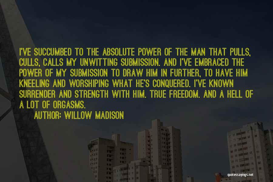 Succumbed Quotes By Willow Madison