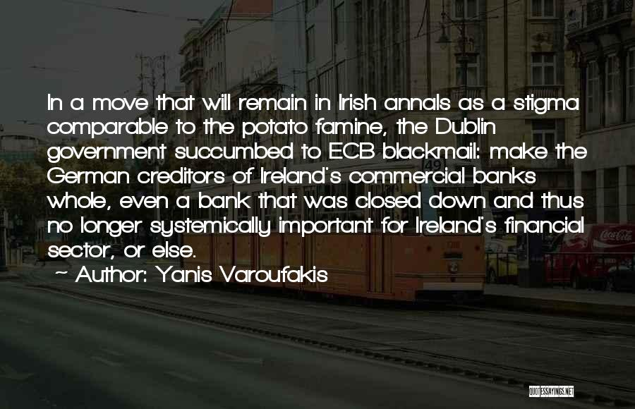 Succumbed Quotes By Yanis Varoufakis