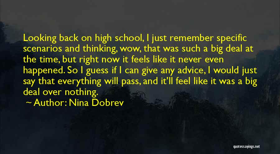 Such Wow Quotes By Nina Dobrev