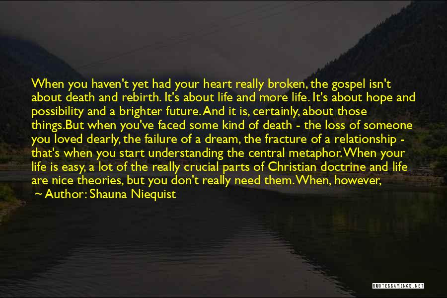 Sudden Death Loss Quotes By Shauna Niequist