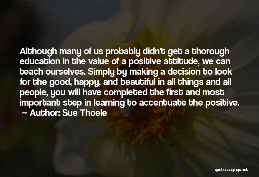 Sue Thoele Quotes 1933517