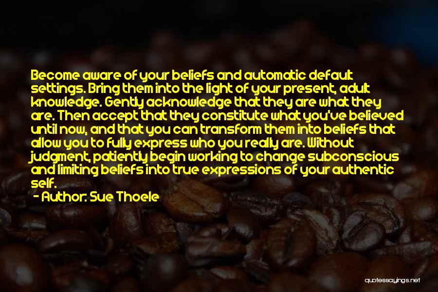 Sue Thoele Quotes 308456
