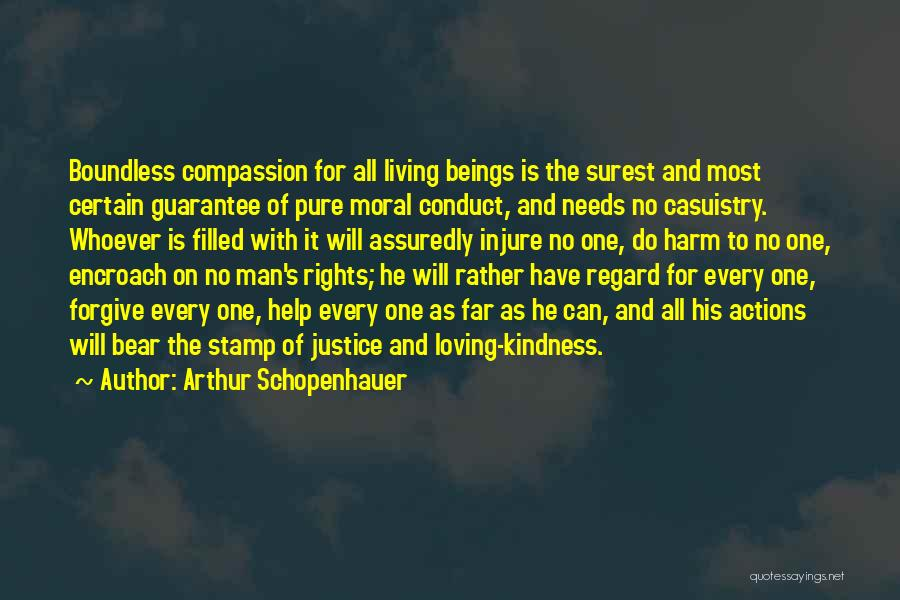 Suffering And Compassion Quotes By Arthur Schopenhauer
