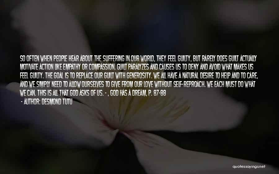 Suffering And Compassion Quotes By Desmond Tutu