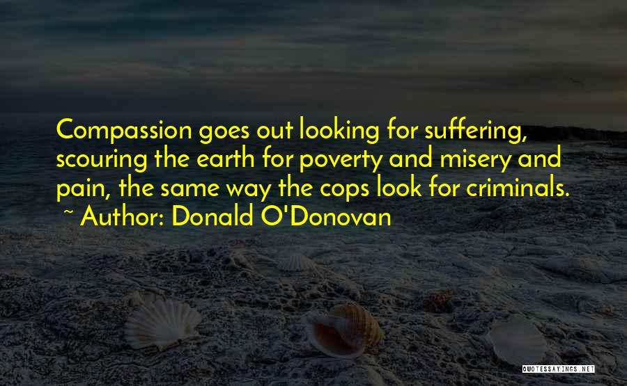 Suffering And Compassion Quotes By Donald O'Donovan