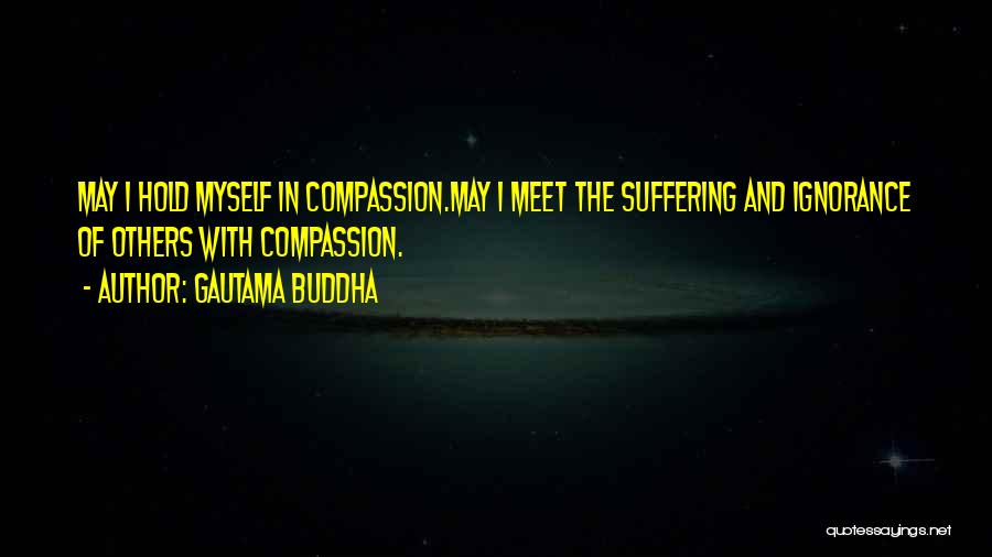 Suffering And Compassion Quotes By Gautama Buddha