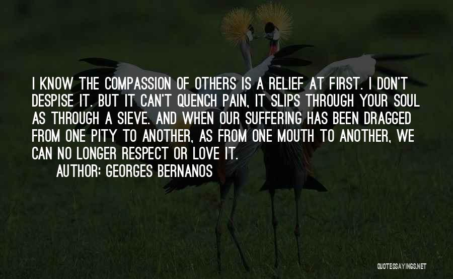 Suffering And Compassion Quotes By Georges Bernanos