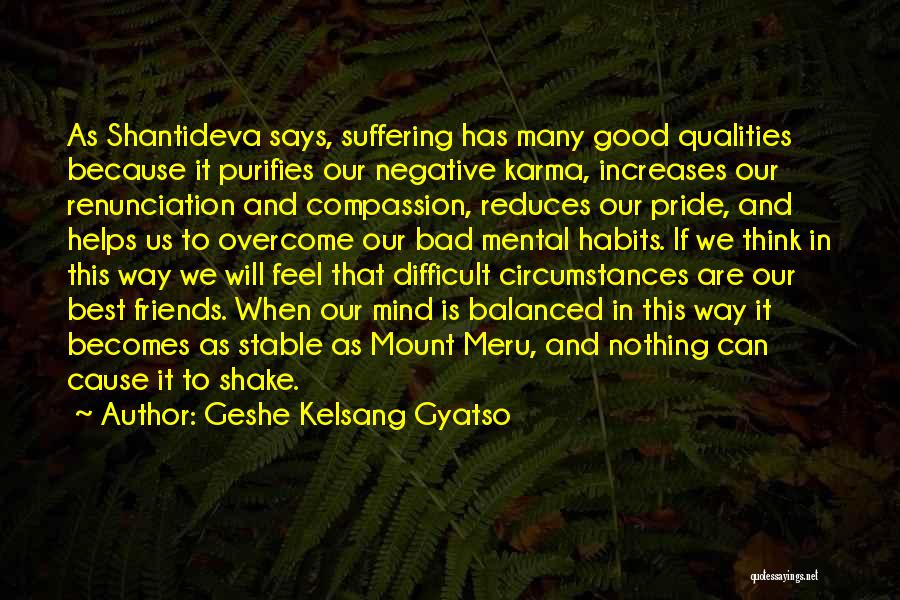 Suffering And Compassion Quotes By Geshe Kelsang Gyatso