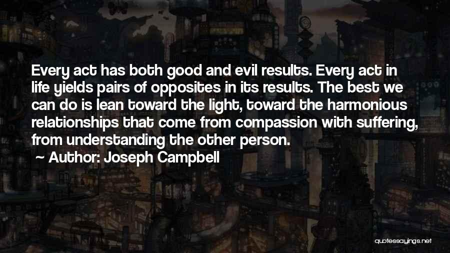 Suffering And Compassion Quotes By Joseph Campbell