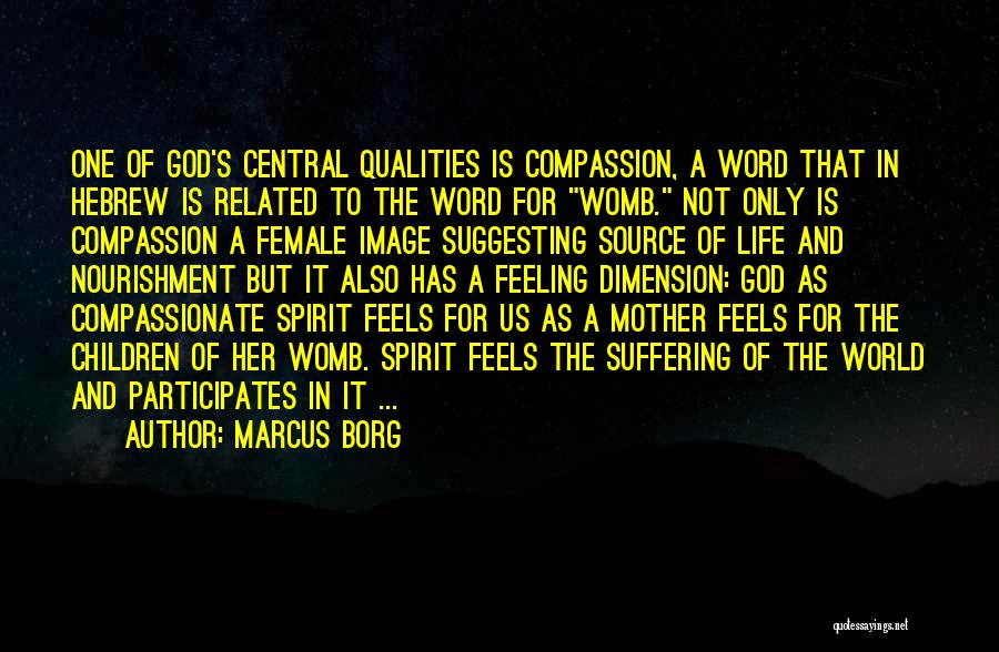 Suffering And Compassion Quotes By Marcus Borg