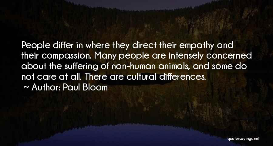 Suffering And Compassion Quotes By Paul Bloom