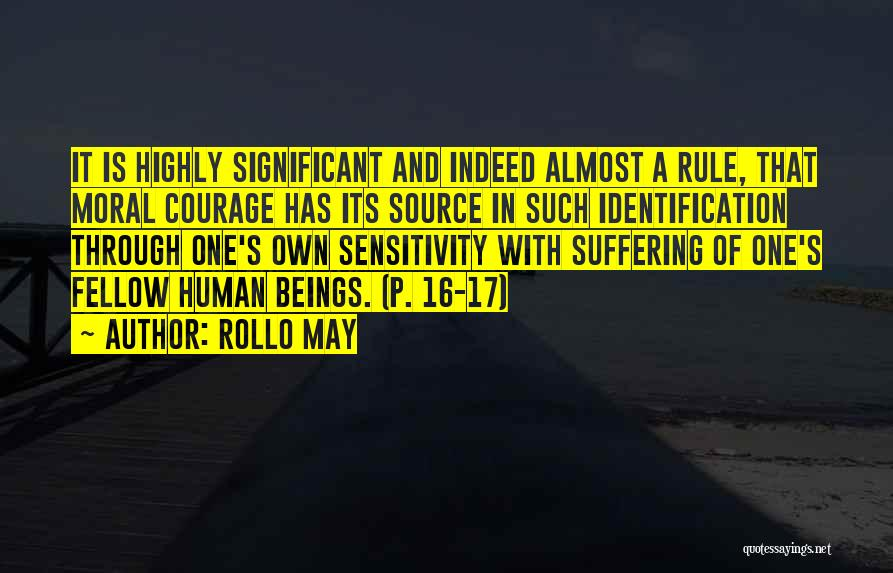 Suffering And Compassion Quotes By Rollo May