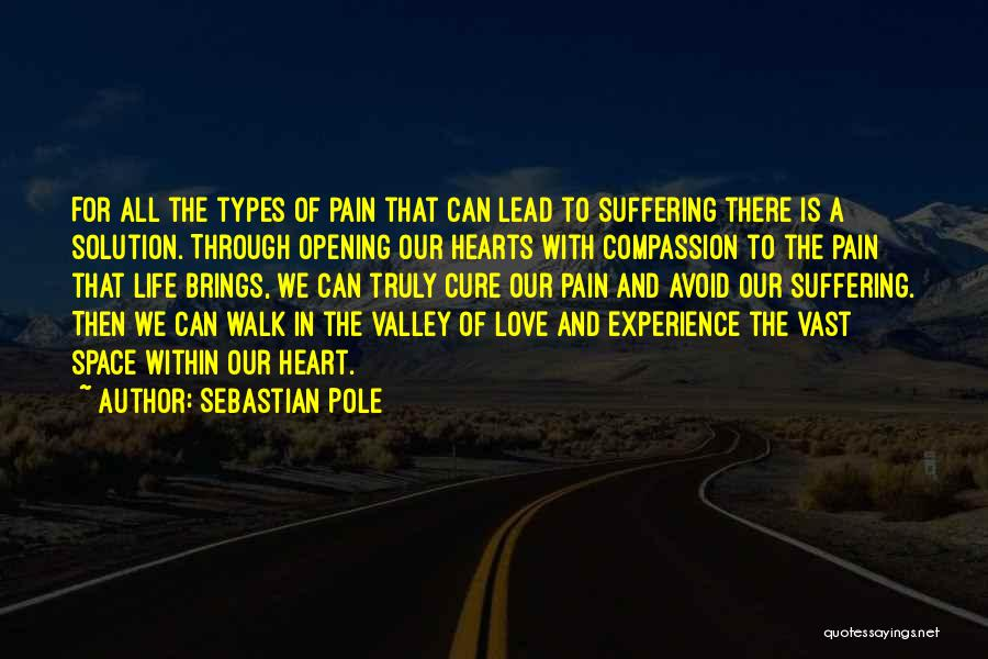 Suffering And Compassion Quotes By Sebastian Pole