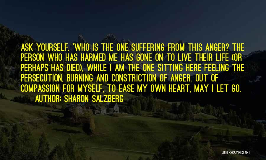 Suffering And Compassion Quotes By Sharon Salzberg