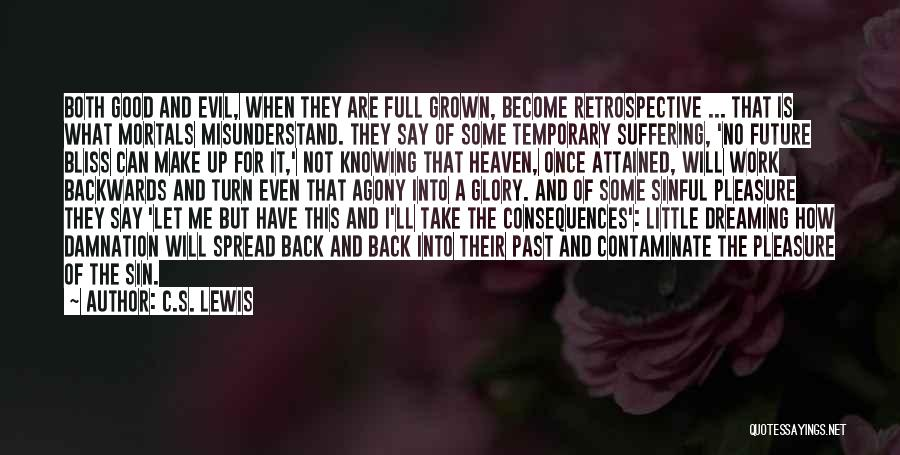 Suffering Consequences Quotes By C.S. Lewis
