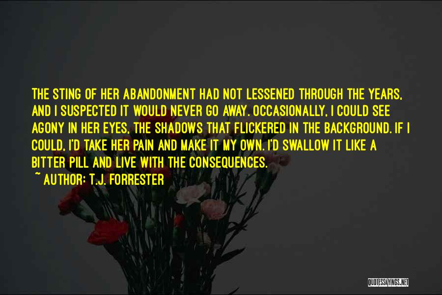 Suffering Consequences Quotes By T.J. Forrester