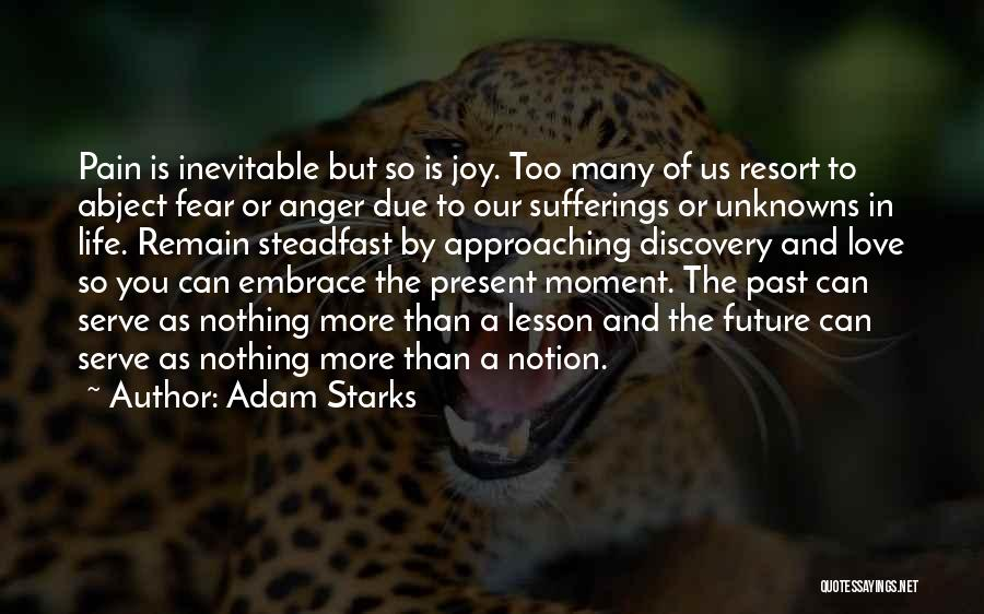 Sufferings In Life Quotes By Adam Starks