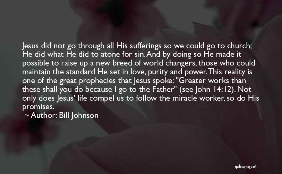 Sufferings In Life Quotes By Bill Johnson